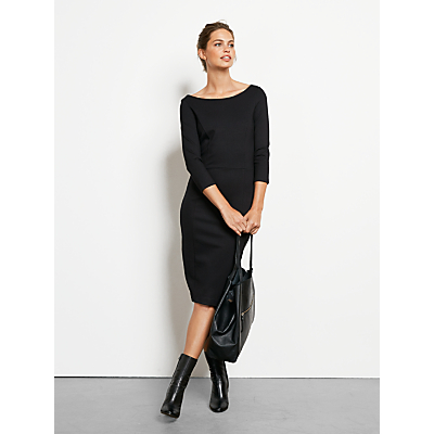 hush Annalise Dress, Black