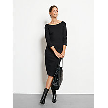 Buy hush Annalise Dress, Black Online at johnlewis.com