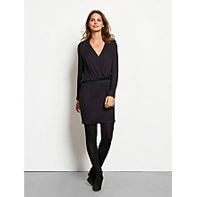 Buy hush Eva Dress, Black Online at johnlewis.com