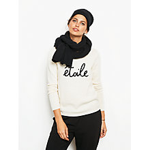 Buy hush Etoile Jumper, Ecru/Black Online at johnlewis.com