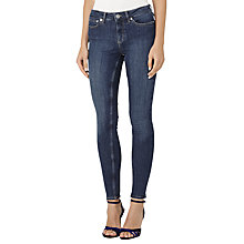 Buy Reiss Stevie Skinny Jeans, Dark Indigo Online at johnlewis.com