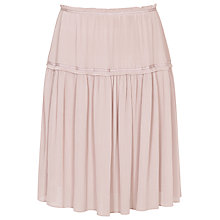 Buy Reiss Dali Plisse Short Skirt Online at johnlewis.com