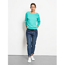 Buy hush Long Sleeve Raglan Tee Top Online at johnlewis.com