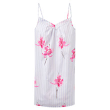 Buy Joules Cassia Orchid Stripe Chemise, Blue/Pink Online at johnlewis.com