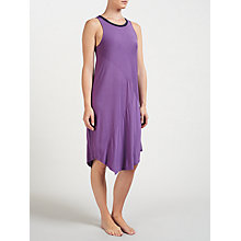 Buy DKNY Jersey Chemise, Grape Online at johnlewis.com