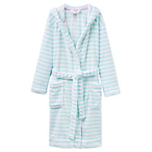 Buy Joules Rita Dressing Gown, Aqua Stripe Online at johnlewis.com
