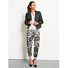 Buy hush Printed Camo Joggers, Khaki Mix Online at johnlewis.com