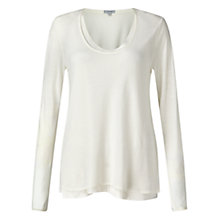 Buy Jigsaw Double Layer Long Sleeve T-Shirt Online at johnlewis.com