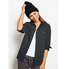 Buy hush Flannel Shirt, Charcoal Marl Online at johnlewis.com