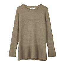 Buy Gerard Darel Plane Pull Over Jumper, Beige Online at johnlewis.com