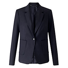 Buy Jigsaw Wool Flannel London Jacket Online at johnlewis.com