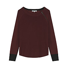 Buy Gerard Darel Soho Jumper, Dark Red Online at johnlewis.com