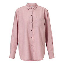 Buy Jigsaw Classic Shirt, Rose Smoke Online at johnlewis.com