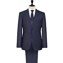 Buy Reiss Fury Wool Modern Fit Three Piece Suit, Bright Blue Online at johnlewis.com