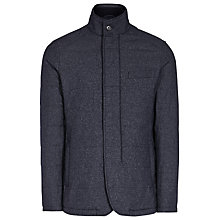 Buy Reiss Hector Quilted Jacket, Indigo Online at johnlewis.com