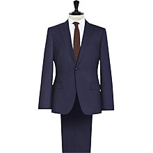 Buy Reiss Daniel Peak Lapel Modern Fit Suit, Navy Online at johnlewis.com
