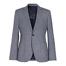 Buy Reiss Babeto Patch Pocket Blazer, Blue Online at johnlewis.com