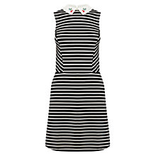 Buy Oasis Cherry Stripe Dress, Multi Online at johnlewis.com
