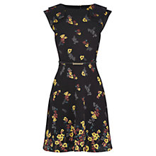 Buy Oasis Floral Skater Dress, Multi Online at johnlewis.com