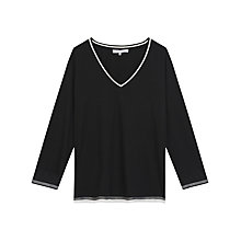 Buy Gerard Darel Felix T-Shirt, Black Online at johnlewis.com