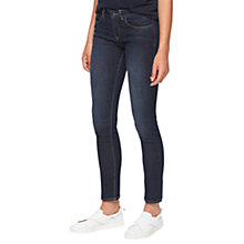 "Buy Jigsaw Richmond 28"" Ankle Grazer Jeans, Indigo Online at johnlewis.com"