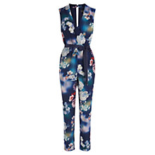 Buy Oasis Photographic Jumpsuit, Multi Online at johnlewis.com