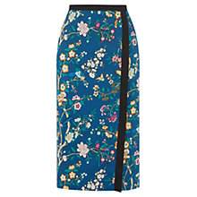 Buy Oasis V&A Pencil Skirt, Multi Online at johnlewis.com