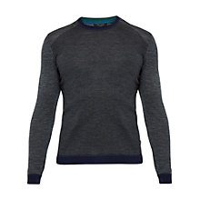 Buy Ted Baker Cambell Merino Wool Jumper, Grey Marl Online at johnlewis.com