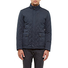 Buy Ted Baker Palmer Quilted Jacket, Navy Online at johnlewis.com