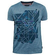 Buy Ted Baker Urbano T-Shirt, Teal Online at johnlewis.com