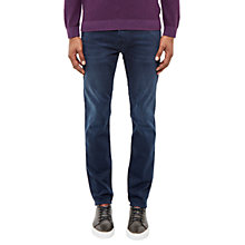 Buy Ted Baker Shariff Straight Jeans, Dark Wash Online at johnlewis.com