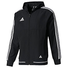 Buy Adidas Tango Cage Men's Hooded Football Jacket, Black/White Online at johnlewis.com