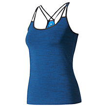 Buy Adidas Strappy Bra Training Tank Top, Blue Online at johnlewis.com