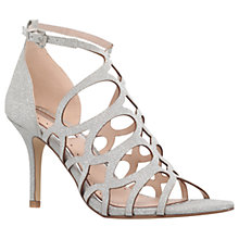 Buy Miss KG Glide Occasion Stiletto Sandals, Silver Online at johnlewis.com