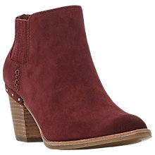 Buy Steve Madden Tinker Block Heeled Ankle Boots Online at johnlewis.com
