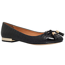 Buy Miss KG Meena Flat Ballet Pumps, Black Online at johnlewis.com