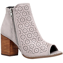 Buy Miss KG Sasha Mid Heel Ankle Boots, Taupe Online at johnlewis.com