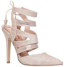 Buy Miss KG Alana 2 Cut Out Stiletto Court Shoes, Gold Combo Online at johnlewis.com