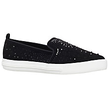 Buy Miss KG Lydia Slip On Trainers, Black Online at johnlewis.com