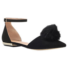 Buy Miss KG Goldie Pom Pom Occasion Pumps, Black Online at johnlewis.com