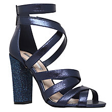 Buy Miss KG Flick Occasion Multi Strap Sandals, Dark Blue Online at johnlewis.com