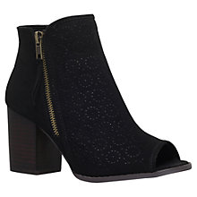 Buy Miss KG Sasha Block Heeled Ankle Boots, Black Online at johnlewis.com