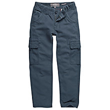 Buy Fat Face Boys' Penzance Cargo Trousers, Denim Online at johnlewis.com