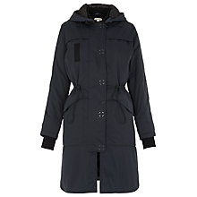 Buy Whistles Jensen Hooded Parka, Navy Online at johnlewis.com