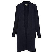 Buy Whistles Donegal Knit Cardigan, Navy Online at johnlewis.com