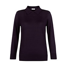 Buy Hobbs Laila Jumper, Hollyhock Online at johnlewis.com