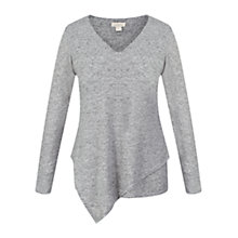 Buy Celuu Lu Asymmetric Layer Top, Grey Online at johnlewis.com