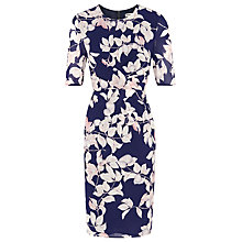 Buy Whistles Apples And Pears Bodycon Dress, Blue/Multi Online at johnlewis.com