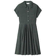 Buy Toast Foulard Shirt Dress, Olive Online at johnlewis.com