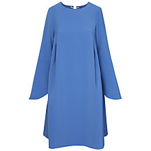 Buy Tommy Hilfiger Jillian Bell Sleeve Dress, Bright Cobalt Online at johnlewis.com